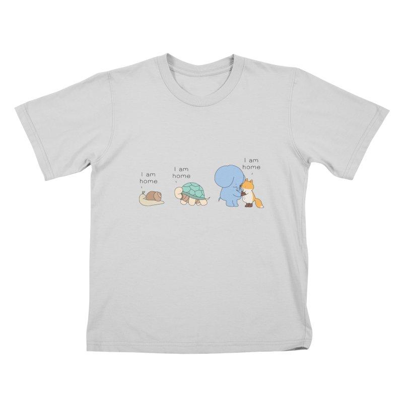 I am Home Kids T-Shirt by Jangandfox's Artist Shop