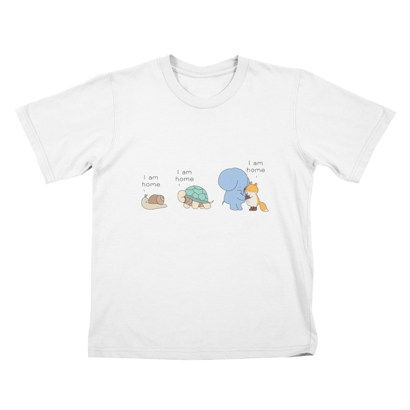I am Home Kids T-Shirt by Jangandfox's Artist Shop