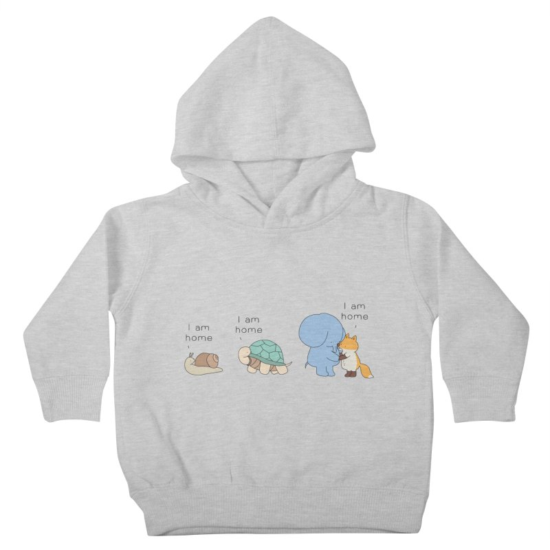 I am Home Kids Toddler Pullover Hoody by Jangandfox's Artist Shop