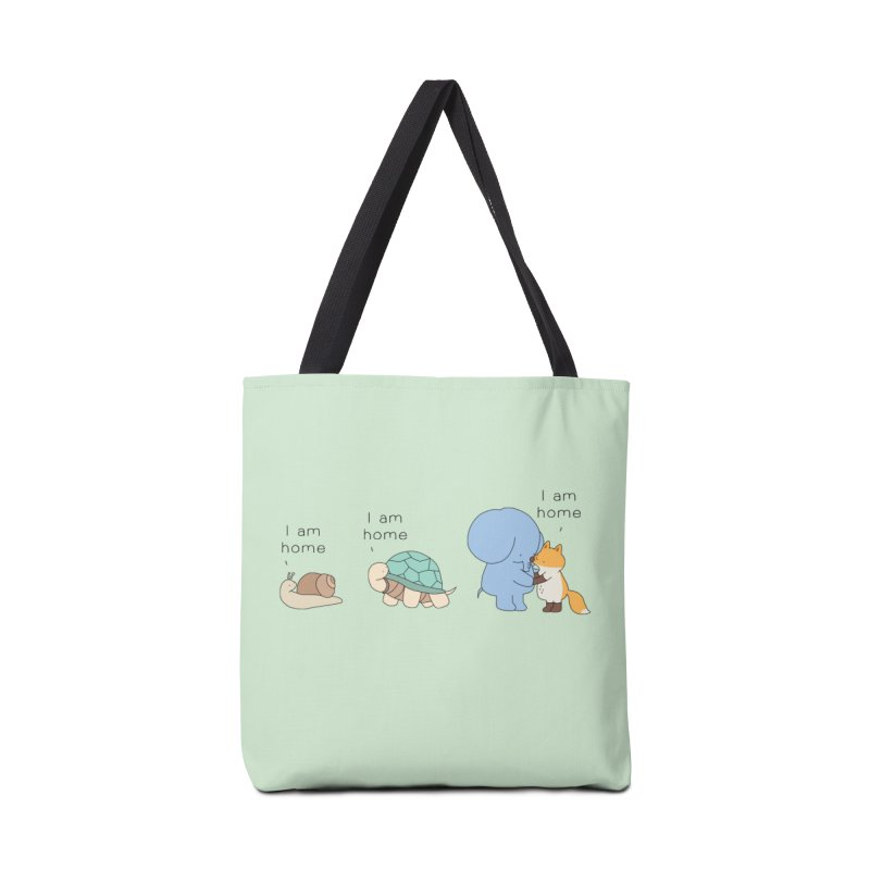 I am Home Accessories Tote Bag Bag by Jangandfox's Artist Shop