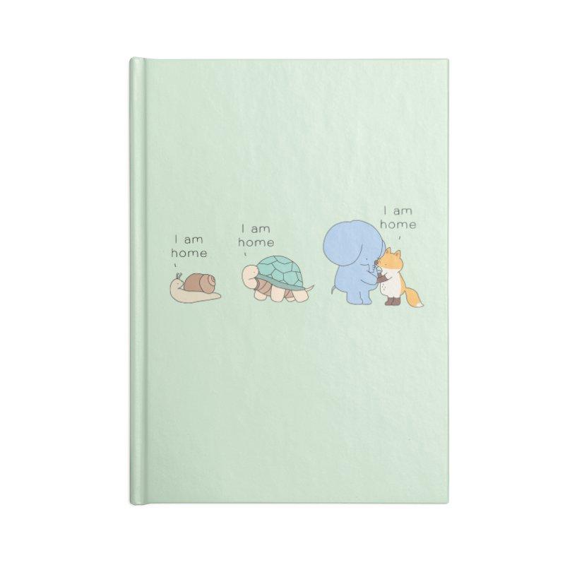 I am Home Accessories Blank Journal Notebook by Jangandfox's Artist Shop