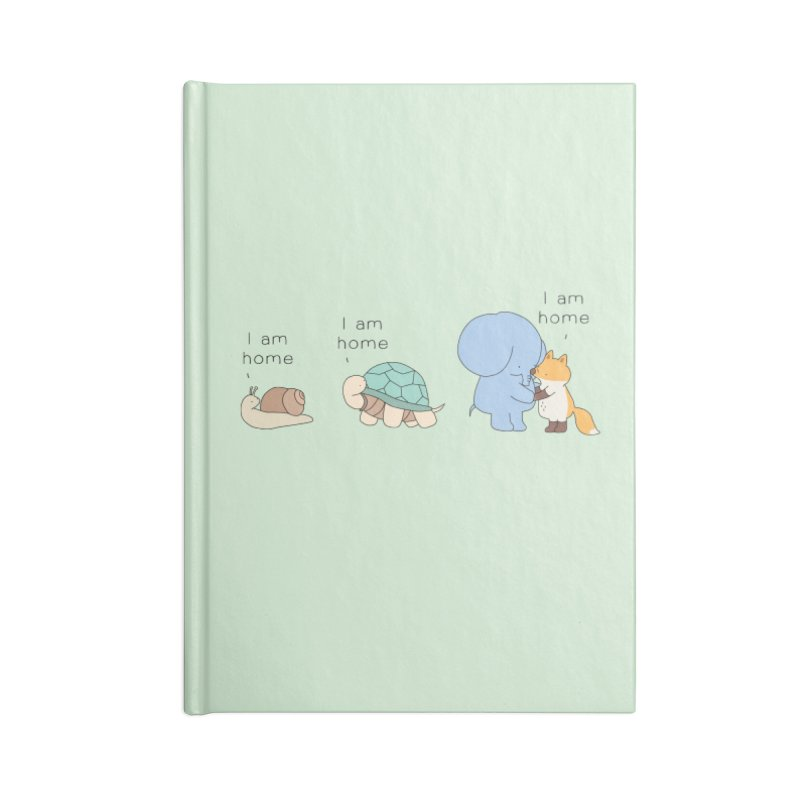 I am Home Accessories Lined Journal Notebook by Jangandfox's Artist Shop