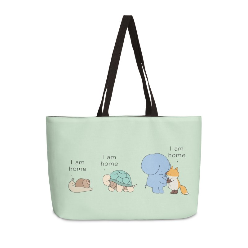 I am Home Accessories Bag by Jangandfox's Artist Shop