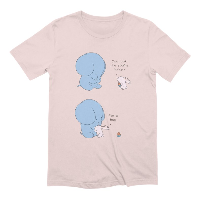 Are You Hug-hungry? Men's Extra Soft T-Shirt by Jangandfox's Artist Shop