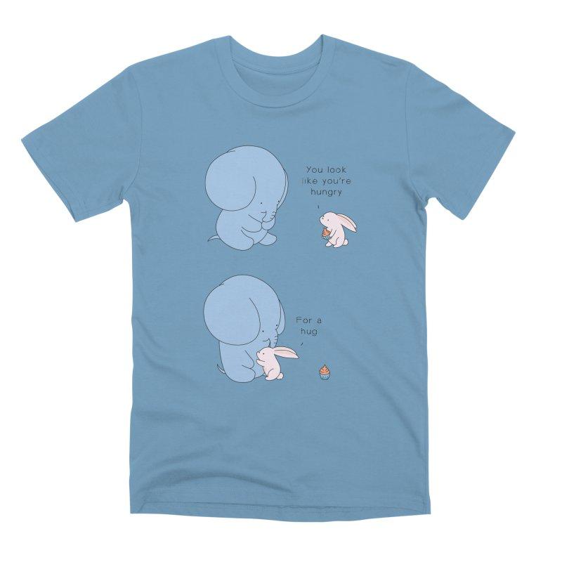 Are You Hug-hungry? Men's Premium T-Shirt by Jangandfox's Artist Shop