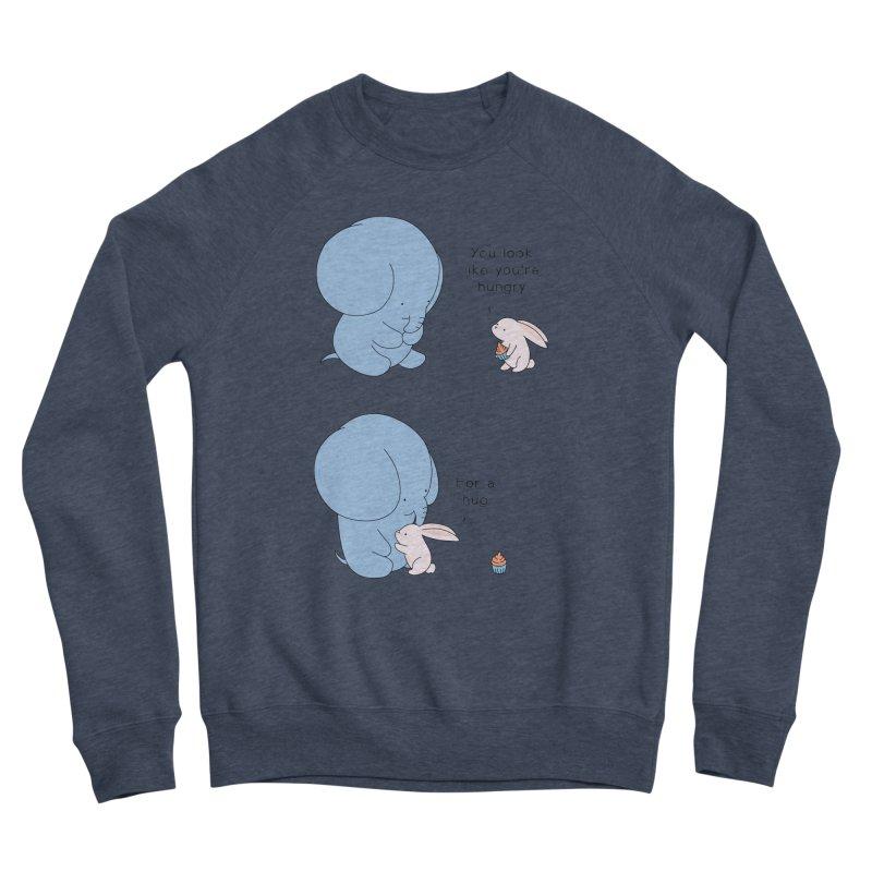 Are You Hug-hungry? Men's Sponge Fleece Sweatshirt by Jangandfox's Artist Shop