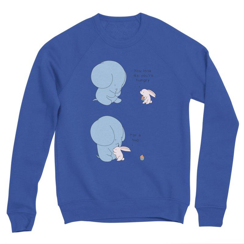 Are You Hug-hungry? Men's Sweatshirt by Jangandfox's Artist Shop
