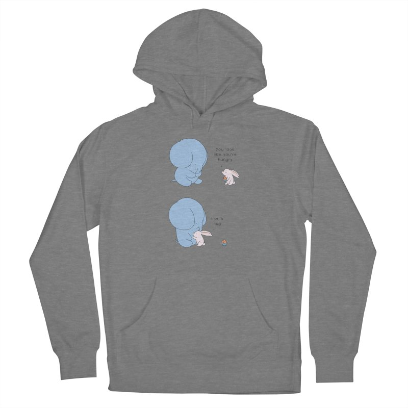 Are You Hug-hungry? Women's French Terry Pullover Hoody by Jangandfox's Artist Shop