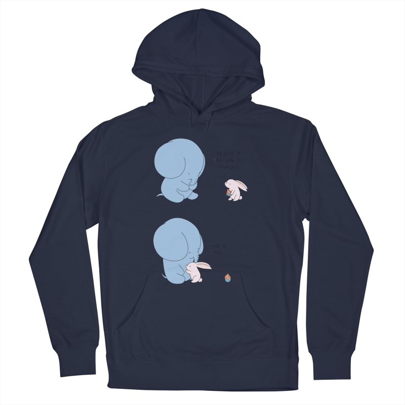 Are You Hug-hungry? Men's French Terry Pullover Hoody by Jangandfox's Artist Shop