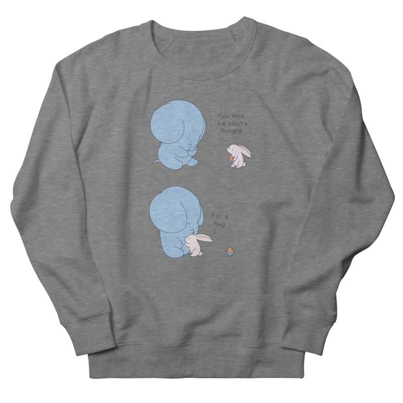 Are You Hug-hungry? Women's French Terry Sweatshirt by Jangandfox's Artist Shop