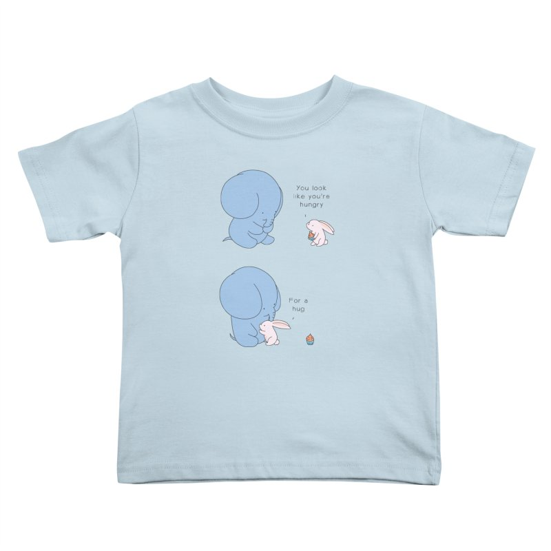Are You Hug-hungry? Kids Toddler T-Shirt by Jangandfox's Artist Shop