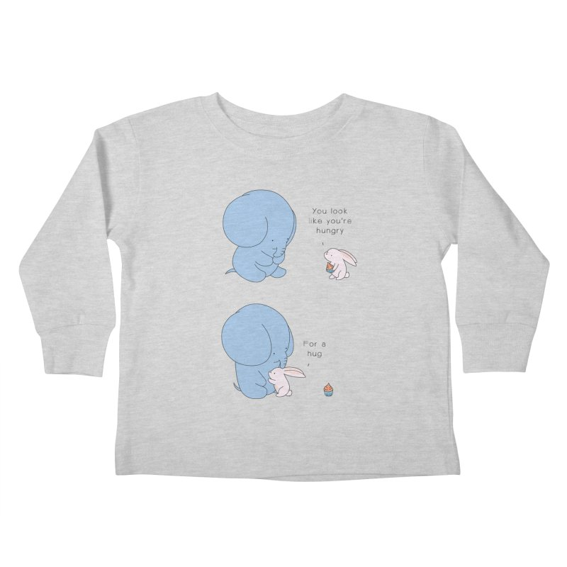Are You Hug-hungry? Kids Toddler Longsleeve T-Shirt by Jangandfox's Artist Shop