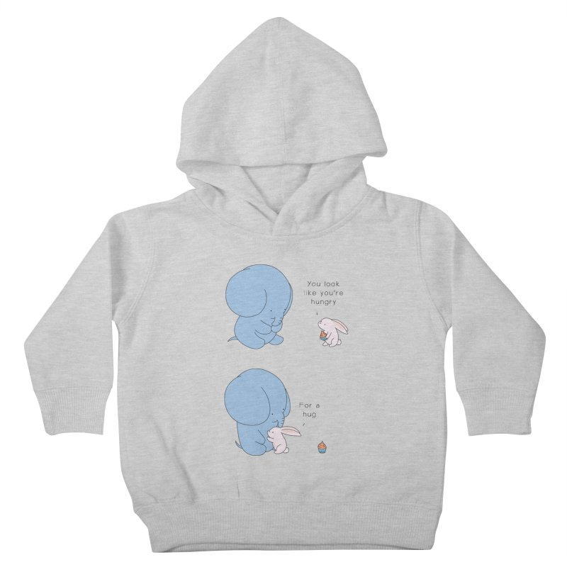 Are You Hug-hungry? Kids Toddler Pullover Hoody by Jangandfox's Artist Shop