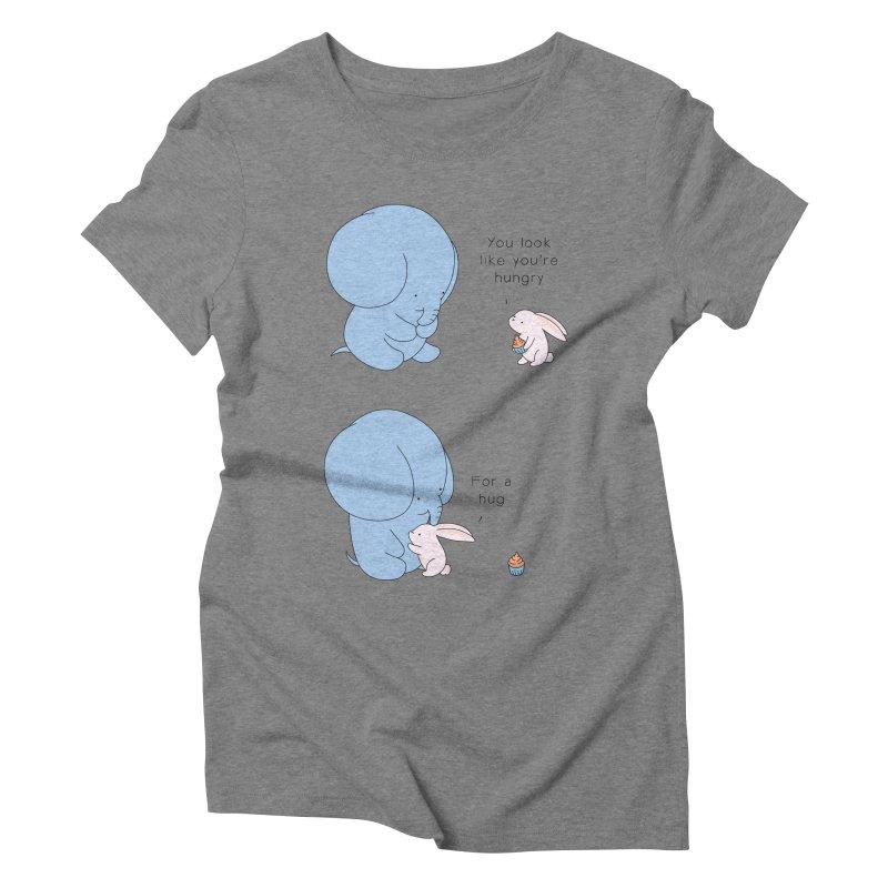Are You Hug-hungry? Women's Triblend T-Shirt by Jangandfox's Artist Shop