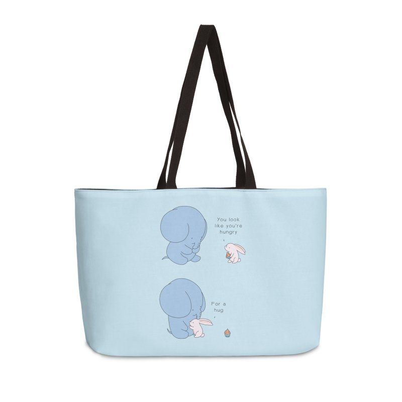 Are You Hug-hungry? Accessories Weekender Bag Bag by Jangandfox's Artist Shop