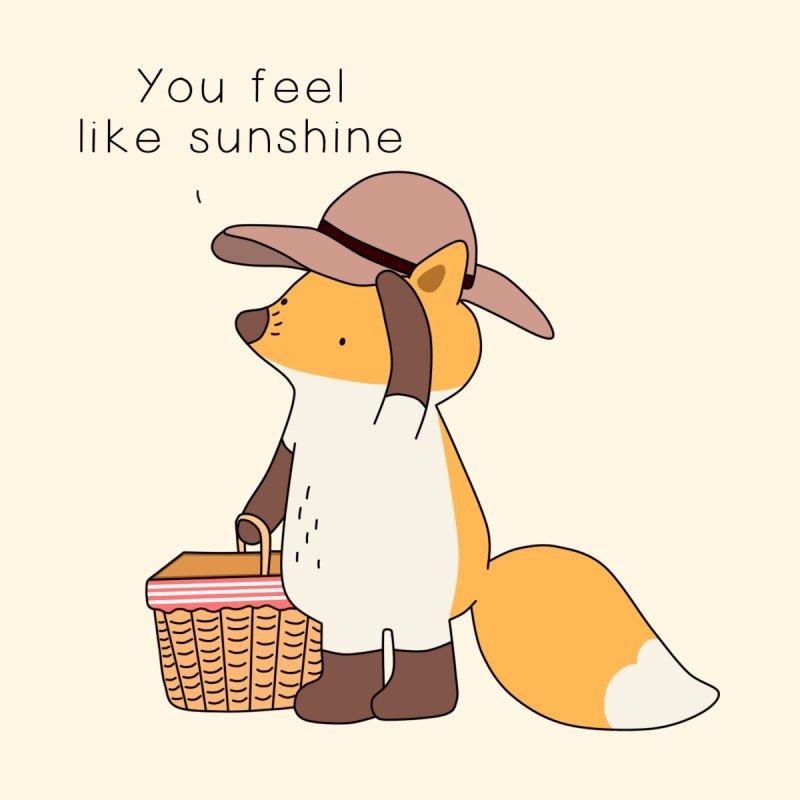You Feel Like Sunshine Women's T-Shirt by Jangandfox x Threadless Artist Shop
