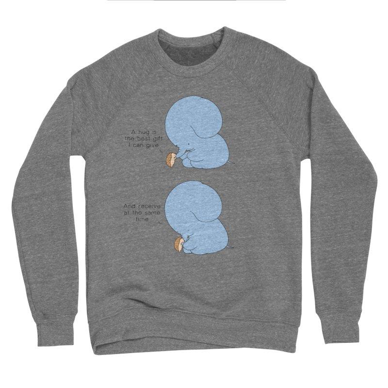 A  Hedgehug Men's Sweatshirt by Jangandfox x Threadless Artist Shop