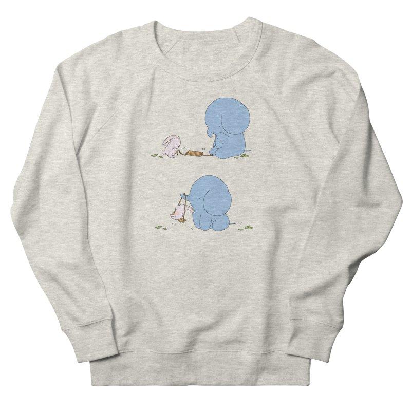 My Favourite Eleph Swing Men's Sweatshirt by Jangandfox x Threadless Artist Shop