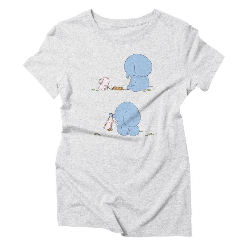 My Favourite Eleph Swing Women's T-Shirt by Jangandfox x Threadless Artist Shop
