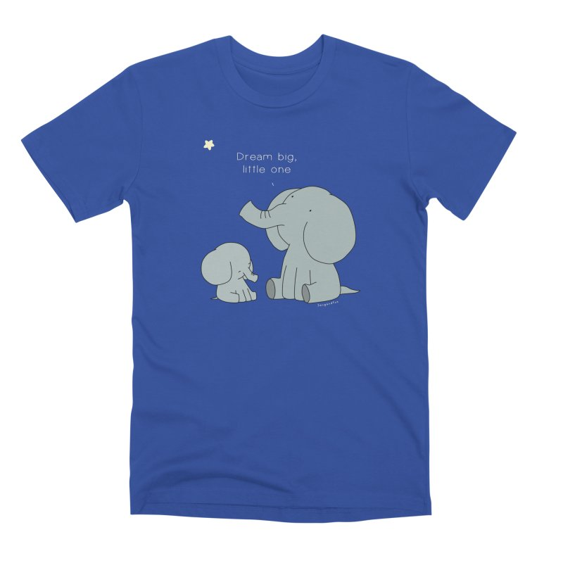 Dream Big, Little One Men's Premium T-Shirt by Jangandfox's Artist Shop