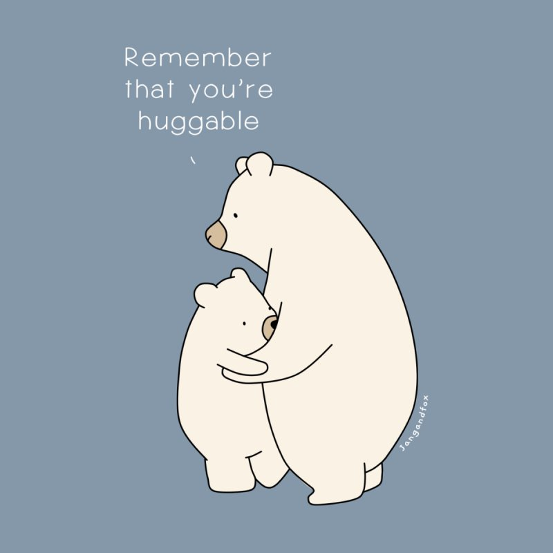 A Bear Hug by Jangandfox's Artist Shop