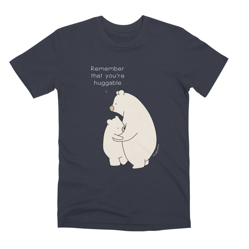 A Bear Hug Men's Premium T-Shirt by Jangandfox's Artist Shop