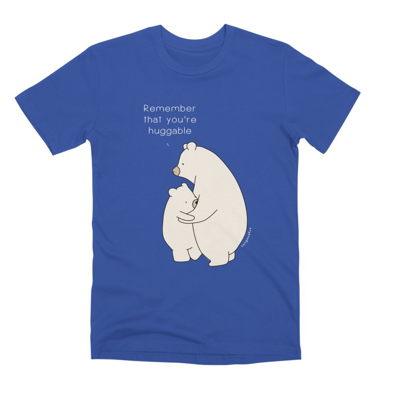 A Bear Hug Men's T-Shirt by Jangandfox's Artist Shop