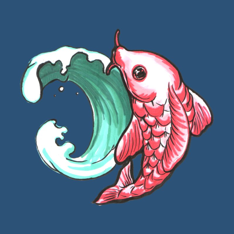 Koi wave by Japan Frenzy - cool T-shirts about Japan!