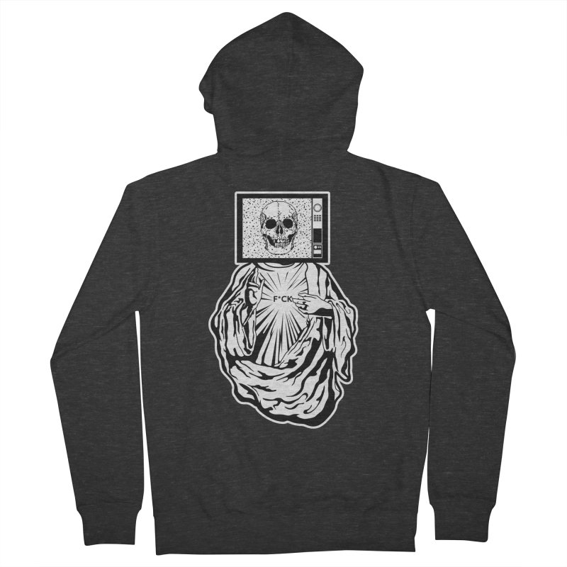 Media Messiah Women's Zip-Up Hoody by japdua's Artist Shop