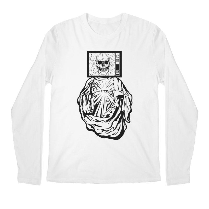 Media Messiah Men's Longsleeve T-Shirt by japdua's Artist Shop