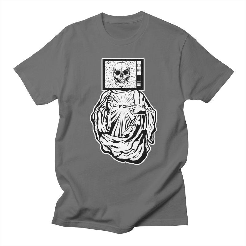 Media Messiah Men's T-shirt by japdua's Artist Shop
