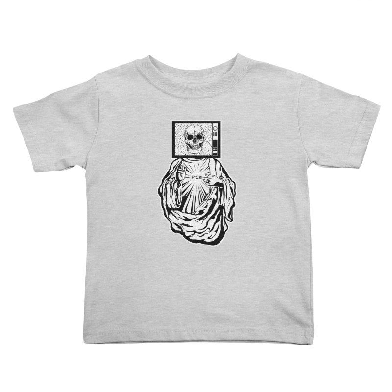 Media Messiah Kids Toddler T-Shirt by japdua's Artist Shop