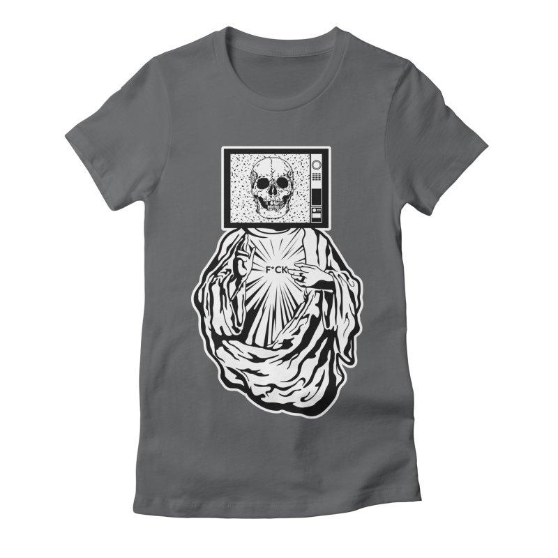 Media Messiah Women's Fitted T-Shirt by japdua's Artist Shop