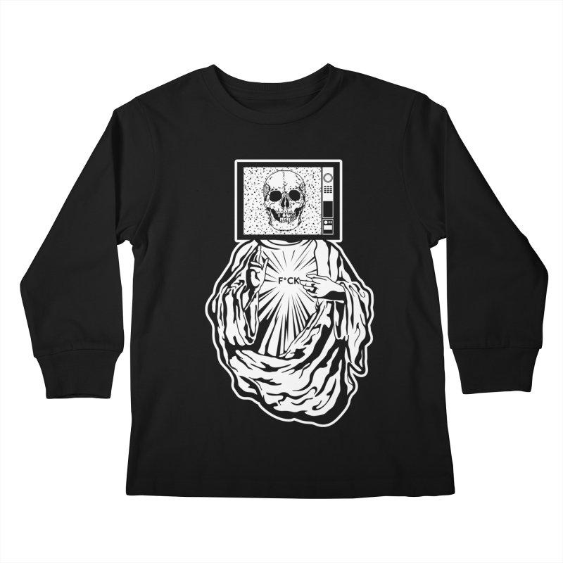 Media Messiah Kids Longsleeve T-Shirt by japdua's Artist Shop