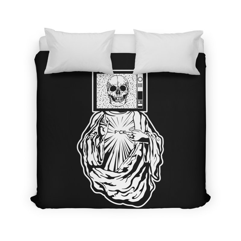 Media Messiah Home Duvet by japdua's Artist Shop