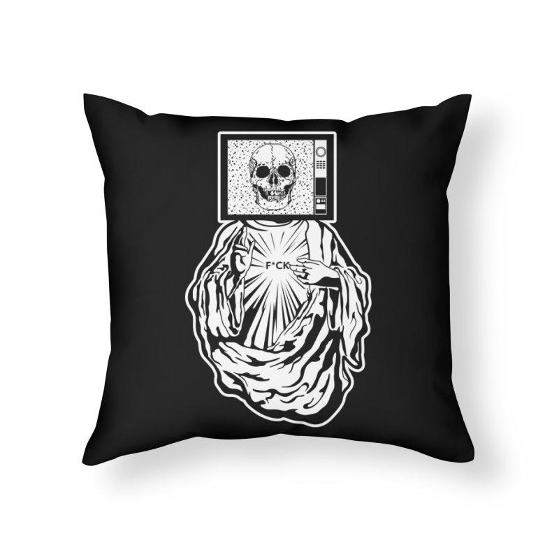 Media Messiah Home Throw Pillow by japdua's Artist Shop