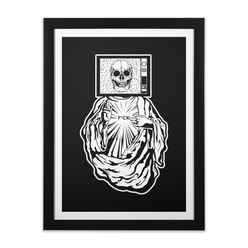 Media Messiah Home Framed Fine Art Print by japdua's Artist Shop