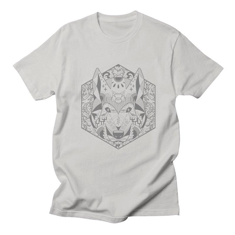 Primal Wolf Men's T-Shirt by japdua's Artist Shop