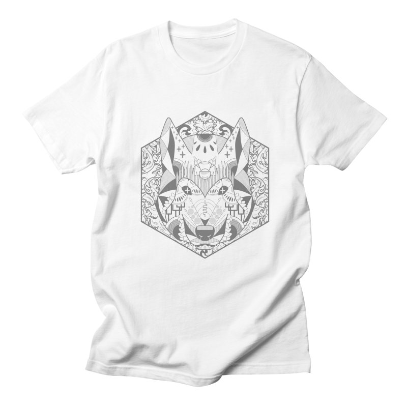 Primal Wolf Men's T-Shirt by japdua's Artist Shop