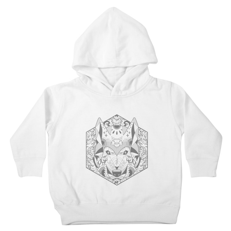 Primal Wolf Kids Toddler Pullover Hoody by japdua's Artist Shop