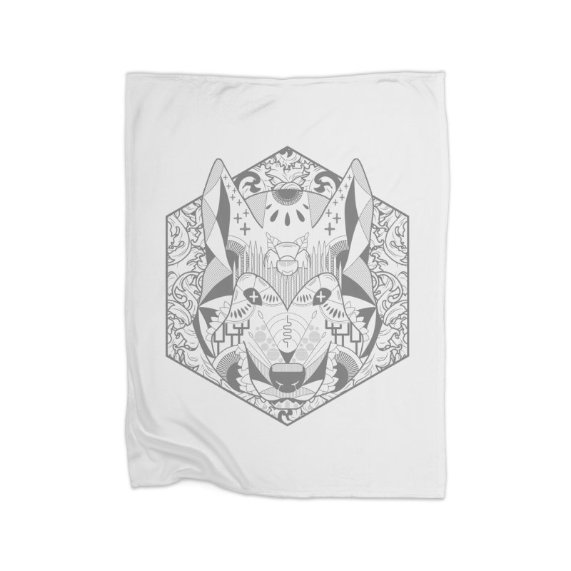 Primal Wolf Home Blanket by japdua's Artist Shop
