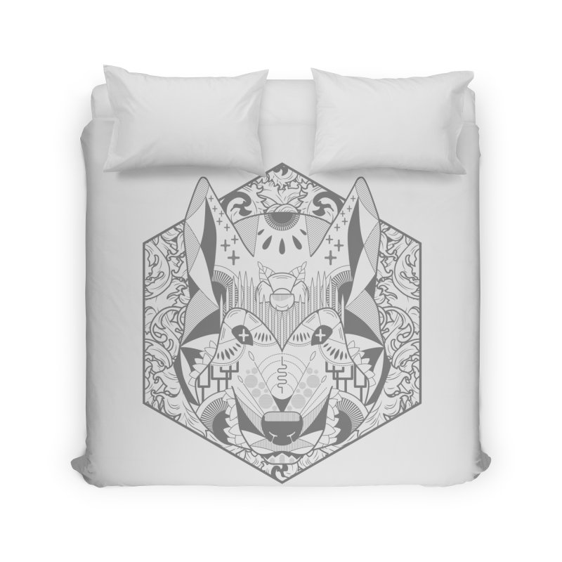 Primal Wolf Home Duvet by japdua's Artist Shop