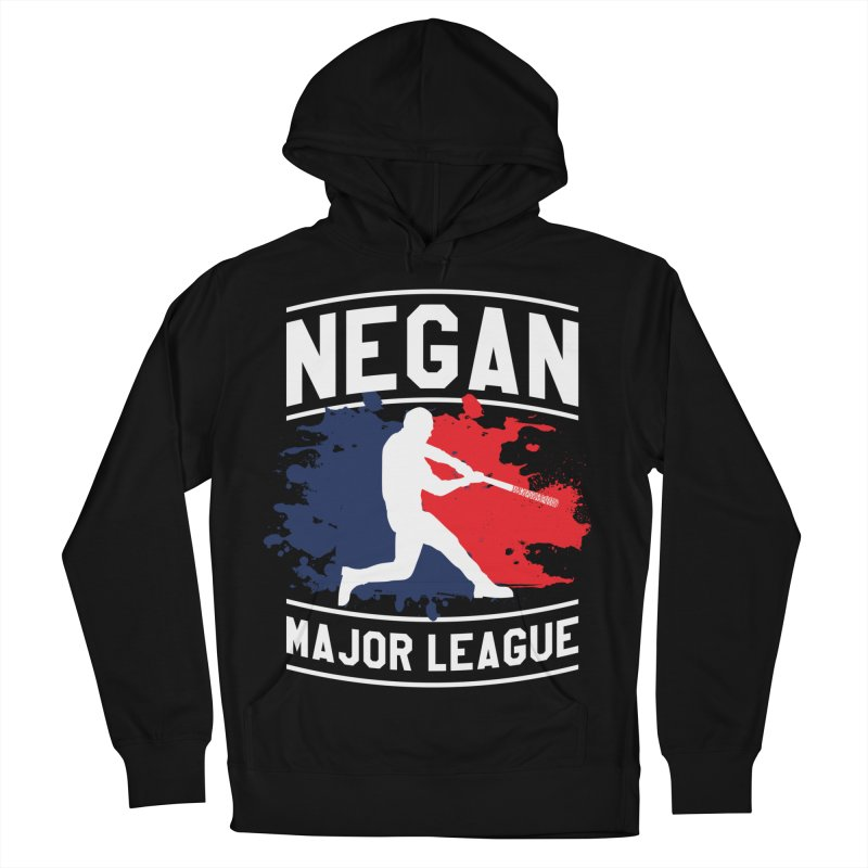 Negan-Major-League Men's Pullover Hoody by japdua's Artist Shop