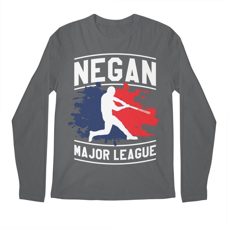 Negan-Major-League Men's Longsleeve T-Shirt by japdua's Artist Shop