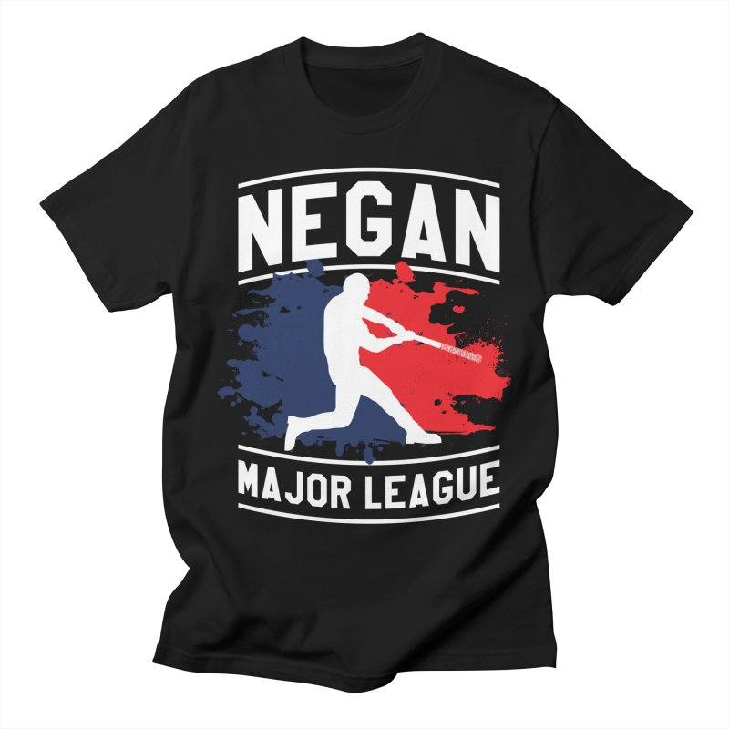 Negan-Major-League Men's T-Shirt by japdua's Artist Shop