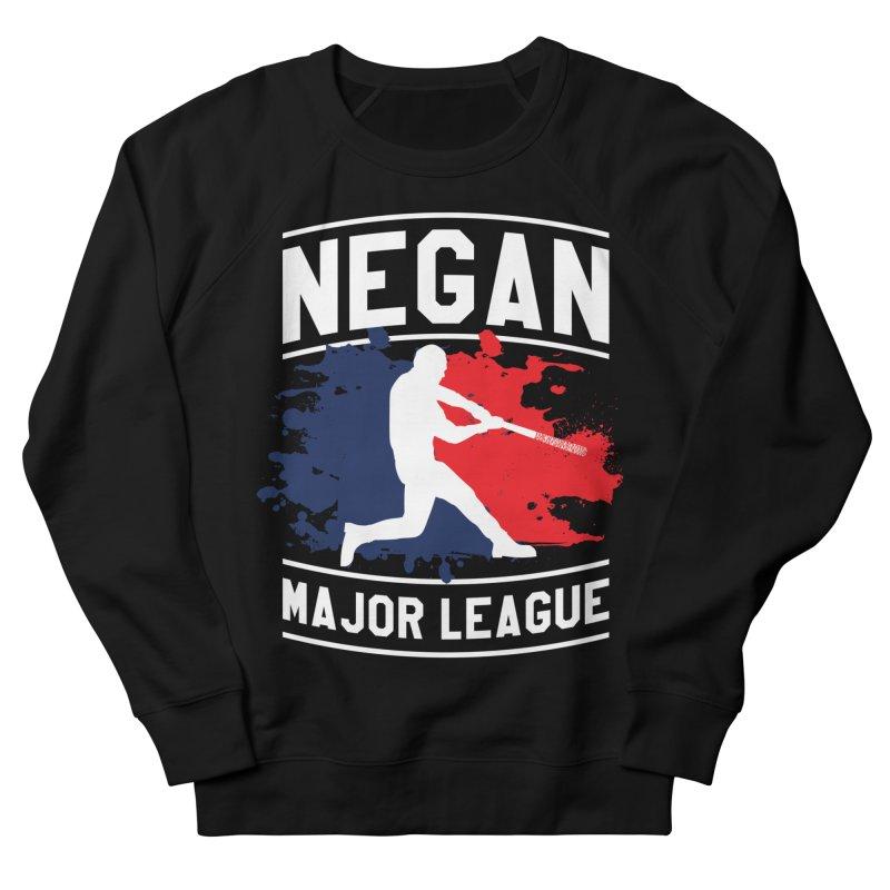 Negan-Major-League Men's Sweatshirt by japdua's Artist Shop