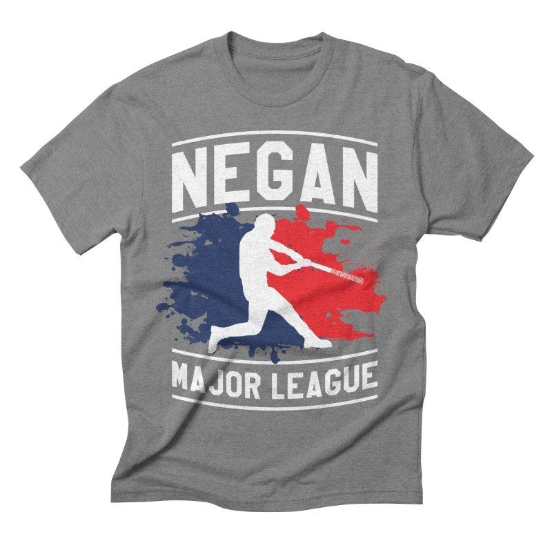 Negan-Major-League Men's Triblend T-Shirt by japdua's Artist Shop