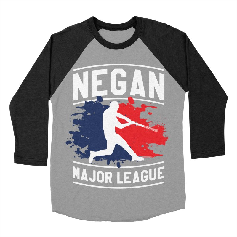 Negan-Major-League Men's Baseball Triblend T-Shirt by japdua's Artist Shop