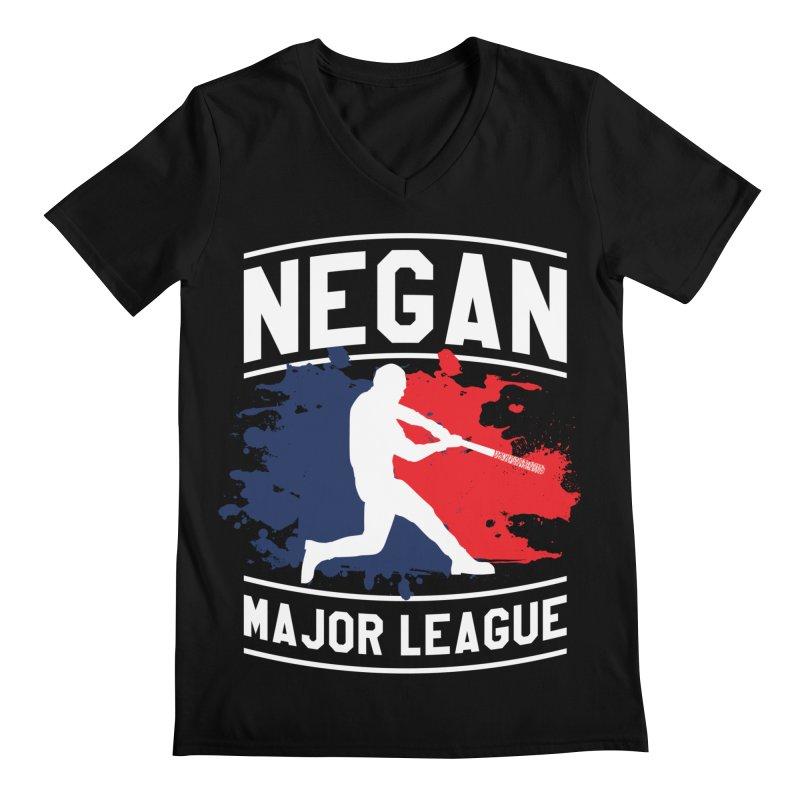 Negan-Major-League Men's V-Neck by japdua's Artist Shop