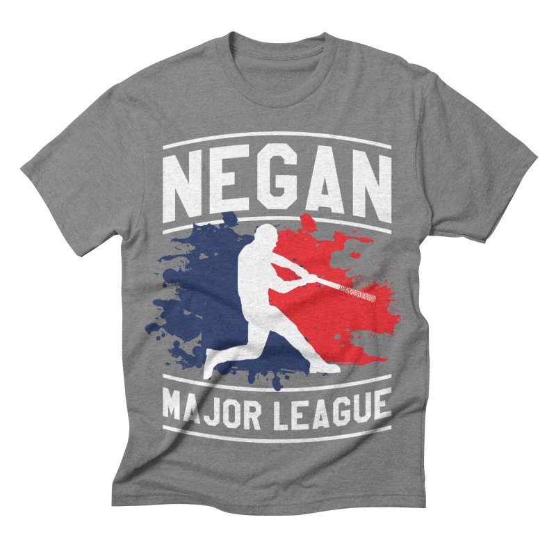Negan-Major-League Men's Triblend T-shirt by japdua's Artist Shop